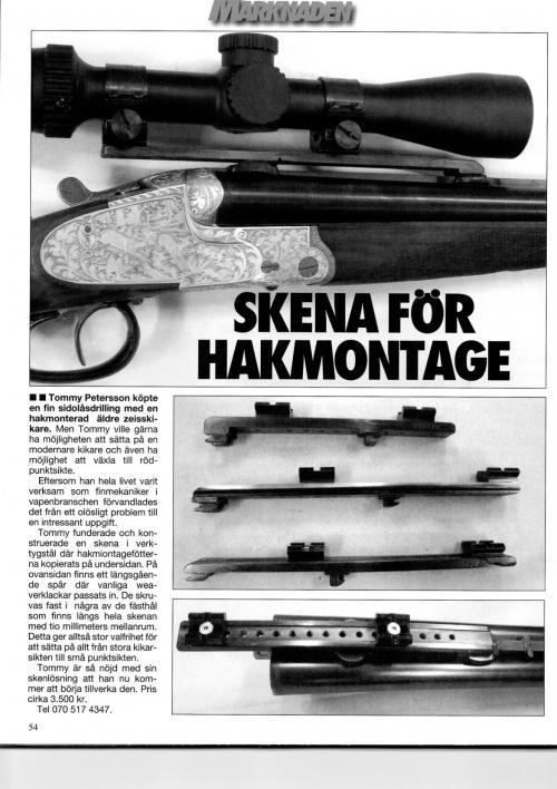 Första modellen i jakt 12 12 vapen